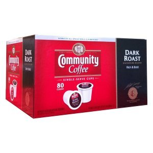 Community Dark Roast Coffee Single Serve 80 Count