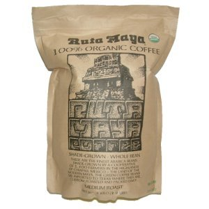 Ruta Maya Organic Medium Roasted Whole Bean Coffee 2.2 lbs