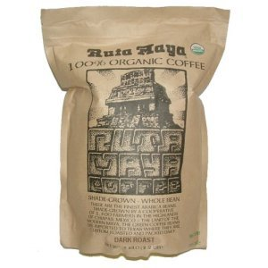 Ruta Maya Organic Dark Roast Whole Bean Coffee 2.2 lbs