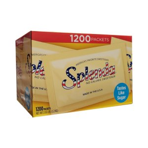Splenda Portion Packets 1200 ea 1g packets