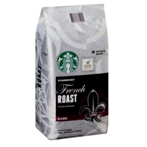 Starbucks French Roast Dark Whole Bean Coffee 40 oz