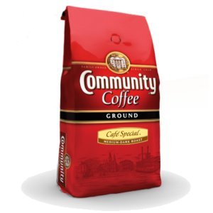 Community Coffee Med Dark Roast Ground Cafe Special 2.5 LB