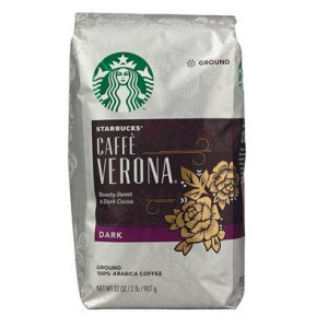 Starbucks Caffe Verona Ground Coffee 32 oz Bold