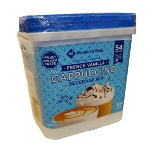 French Vanilla Cappuccino Mix Daily Chef 54 Servings