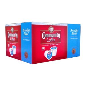 Community Coffee Breakfast Blend Single Serve 80 Count