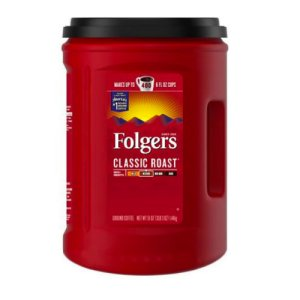 Folgers Classic Roast Ground Coffee 51 oz, 400 Cups