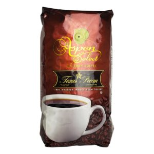 Aspen Select Gourmet Coffee Texas Pecan 40 Oz Whole Bean