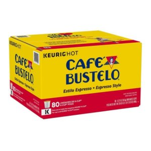 Cafe Bustelo Espresso Style Coffee K-Cups 80 ct