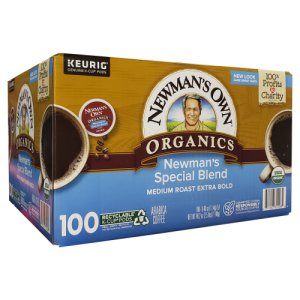 Newmans Own Special Blend 100 Ct K Cups