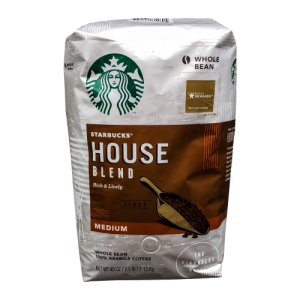 Starbucks House Blend Whole Bean Coffee 40 OZ