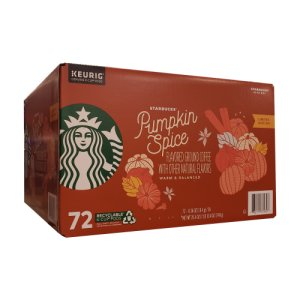 Starbucks Pumpkin Spice Coffee K-Cups 72 ct